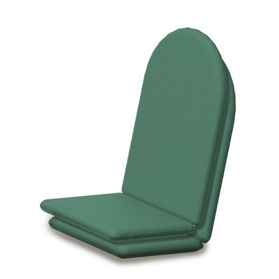 Outdoor Sunbrella Full Adirondack Chair Cushion Fabric: Spa