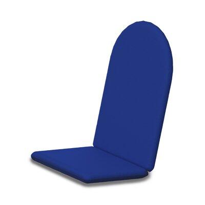 Outdoor Sunbrella Adirondack Chair Cushion Fabric: Pacific Blue