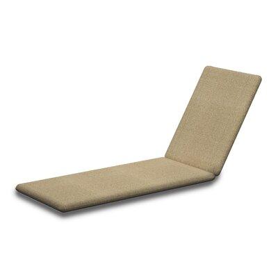 Outdoor Sunbrella Chaise Lounge Cushion Fabric: Sesame