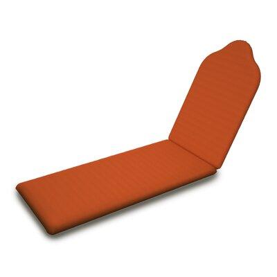 Outdoor Sunbrella Chaise Lounge Cushion Fabric: Tuscan