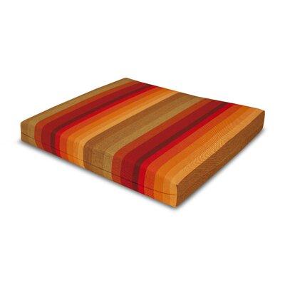 Outdoor Sunbrella Barstool Cushion Fabric: Astoria Sunset