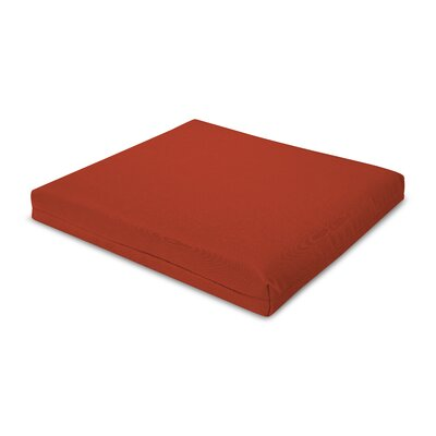 Outdoor Sunbrella Barstool Cushion Fabric: Logo Red