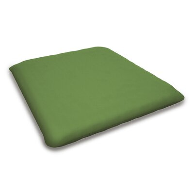 Outdoor Sunbrella Bench Cushion Fabric: Ginkgo