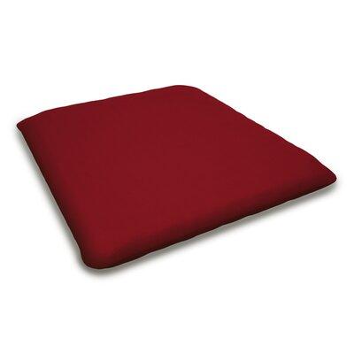 Outdoor Sunbrella Bench Cushion Fabric: Logo Red