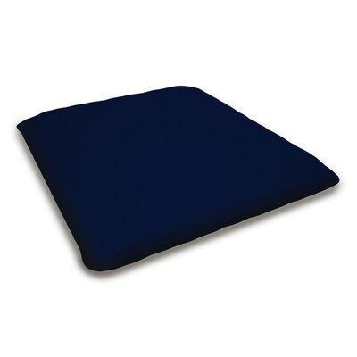 Outdoor Sunbrella Bench Cushion Fabric: Navy