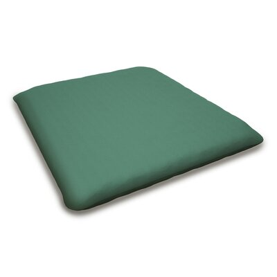 Outdoor Sunbrella Bench Cushion Fabric: Spa