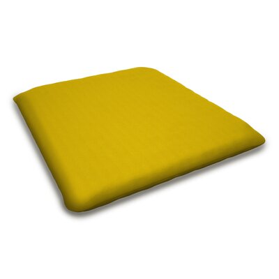 Outdoor Sunbrella Bench Cushion Fabric: Sunflower Yellow