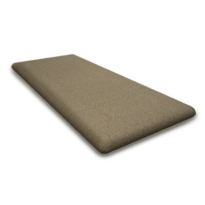 Outdoor Sunbrella Bench Cushion Fabric: Sesame