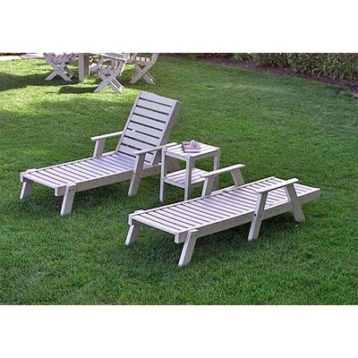 Captain 3 Piece Lounge Seating Group