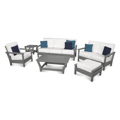 Tasteful Sunbrella Conversation Set Cushions Harbour - Product picture - 39873