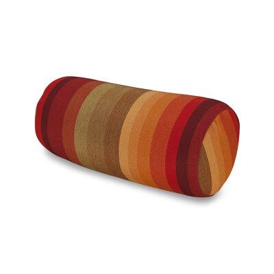 Striped Headrest Outdoor Sunbrella Bolster Color: Sunset