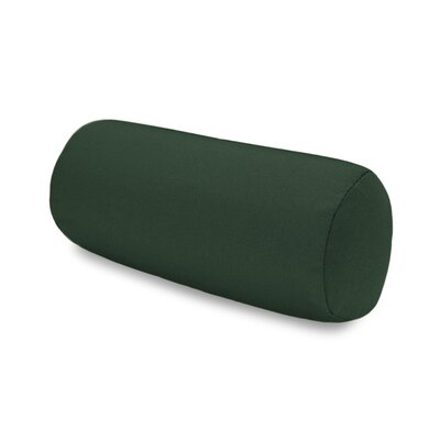 Solid Headrest Outdoor Sunbrella Bolster Color: Forest Green