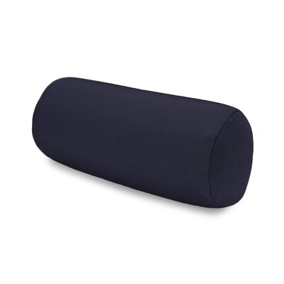 Solid Headrest Outdoor Sunbrella Bolster Color: Navy
