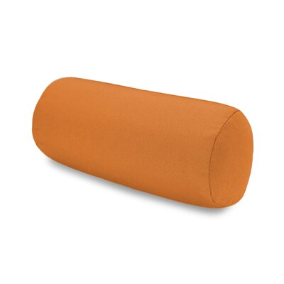 Solid Headrest Outdoor Sunbrella Bolster Color: Tuscan