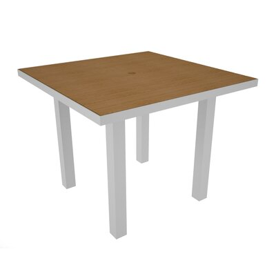 Euro Dining Table Finish: Silver & Plastique