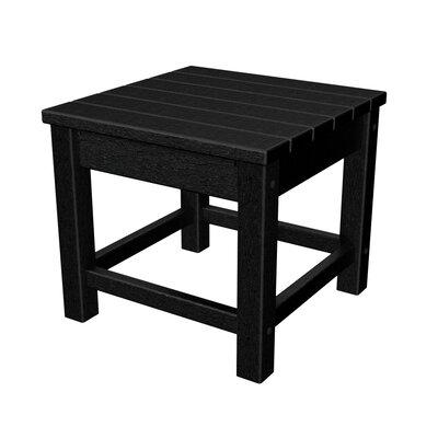 Club Side Table Finish: Black