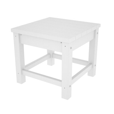 Club Side Table Finish: White