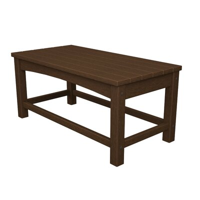 Club Coffee Table Finish: Mahogany