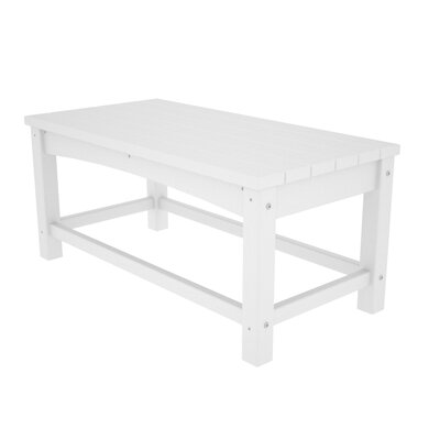 Club Coffee Table Finish: White