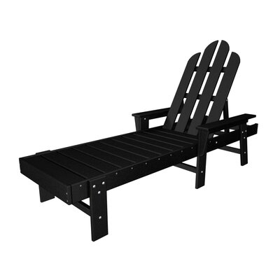 Long Island Chaise Lounge Finish: Black