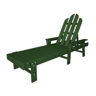 Long Island Chaise Lounge Finish: Green