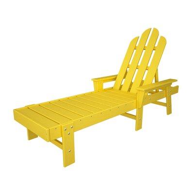 Long Island Chaise Lounge Finish: Lemon