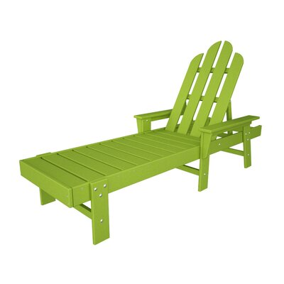Long Island Chaise Lounge Finish: Lime