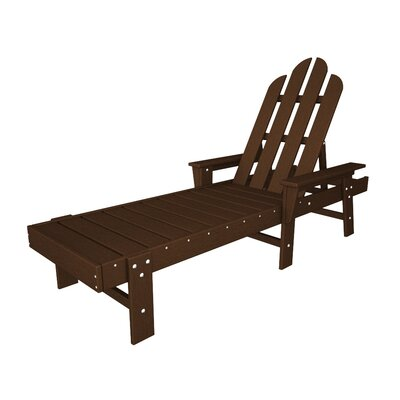 Long Island Chaise Lounge Finish: Mahogany