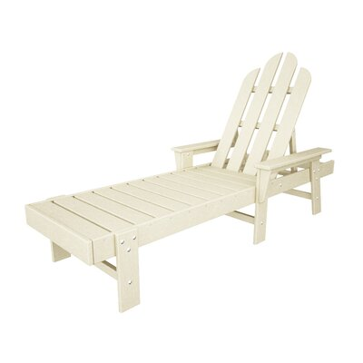 Long Island Chaise Lounge Finish: Sand