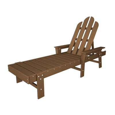 Long Island Chaise Lounge Finish: Teak