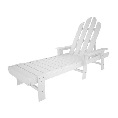 Long Island Chaise Lounge Finish: White