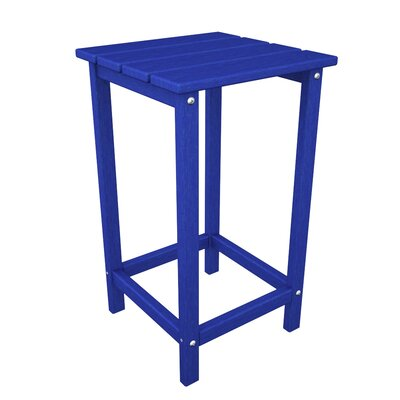 Long Island Side Table Finish: Pacific Blue
