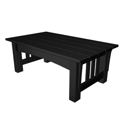 Mission Coffee Table Finish: Black
