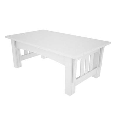 Mission Coffee Table Finish: White