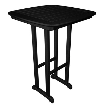 Nautical Bar Table Finish: Black