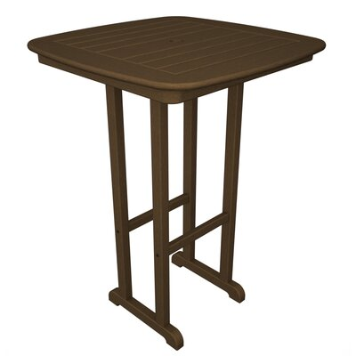 Nautical Bar Height Table Teak - Product photo