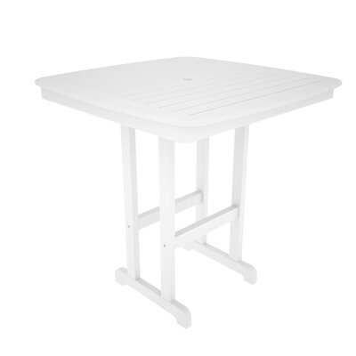 Nautical Bar Table Finish: White