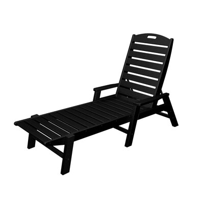 Nautical Chaise Lounge Finish: Black