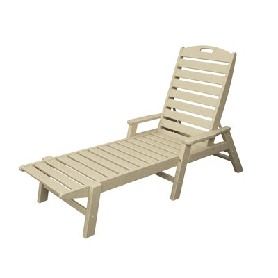 Nautical Chaise Lounge Finish: Sand