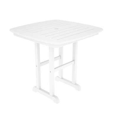 Nautical Dining Table Finish: White