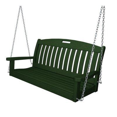 Nautical Porch Swing Finish: Hunter Green