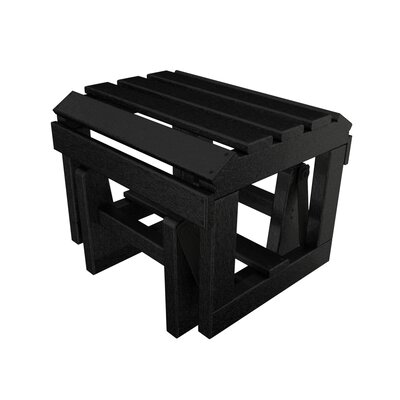 Adirondack Ottoman Finish: Black
