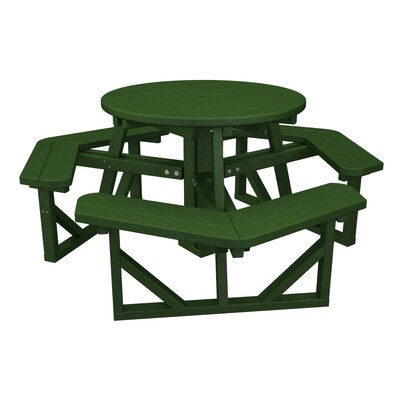 Cheap Park Picnic Table Finish Green for sale
