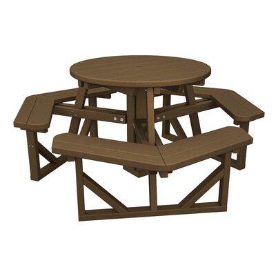 Polywood Park Picnic Table - Finish: Teak at Sears.com