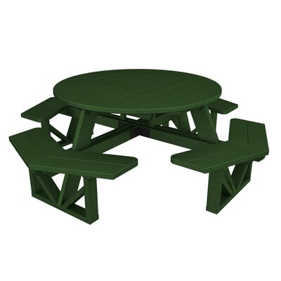 Park Picnic Table Finish: Hunter Green