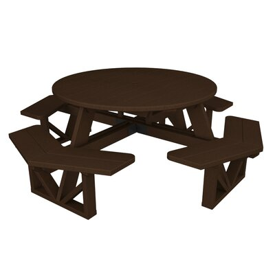 Park Picnic Table Finish: Mahogany