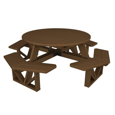 Park Picnic Table Finish: Teak