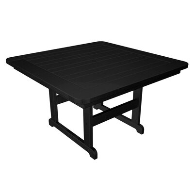 Park Dining Table Finish: Black