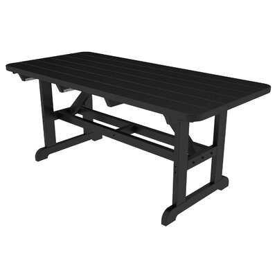 Park Picnic Table Finish: Black