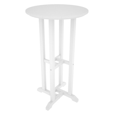 Traditional Bar Table Finish: White